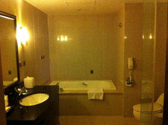 Grand Forward Hotel: Inside the washroom