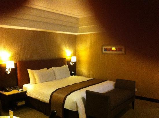 Grand Forward Hotel: Comfy Bed
