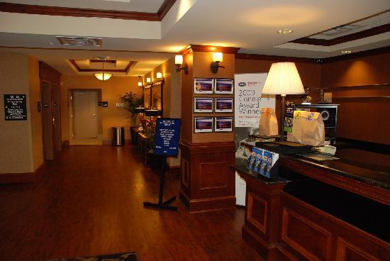 Hampton Inn Bryant: Lobby of Hampton Inn
