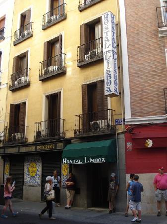 Hotel Residencia Lisboa: Entrance