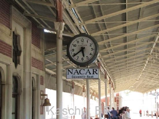 Sirkeci Station: Sirkeci Train Station - main platform