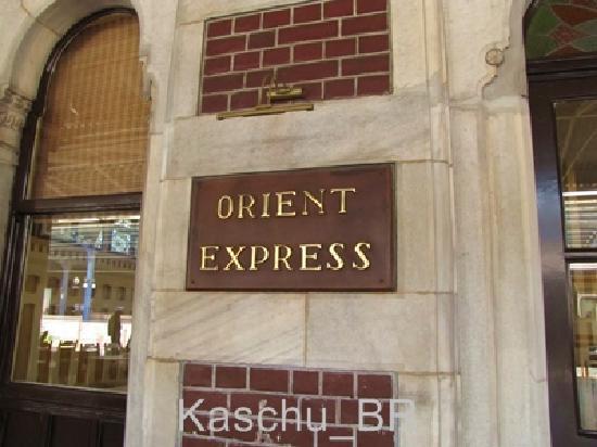 Sirkeci Station: Sirkeci Train Station - Orient Express Restaurant