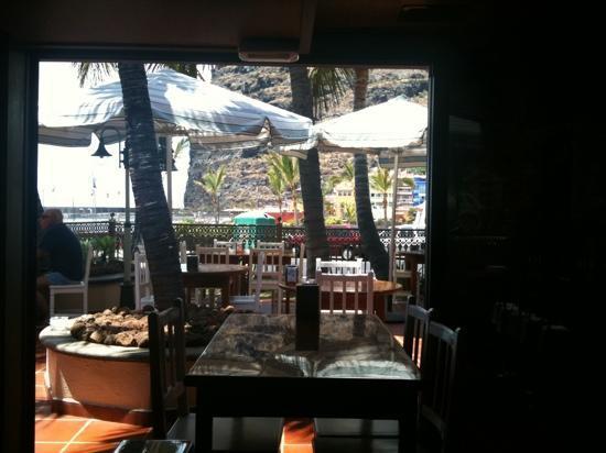 Tazacorte, สเปน: buena terraza y servicio excelente!!