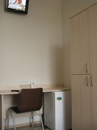 Corner Hotel: Double room