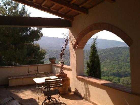 Relais Poggio Ai Santi: A room with a view