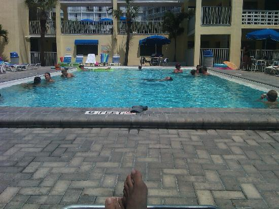 Alden Suites: one of the pools