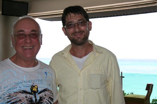 Jerusalem Kosher Store and Restaurant : Le propriétaire, un homme charmant et sympathique !