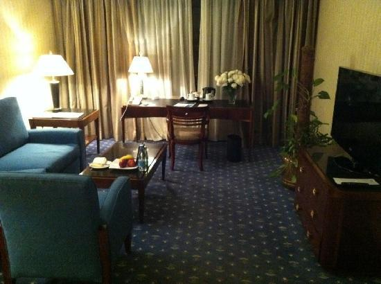 Le Meridien Heliopolis: room 1