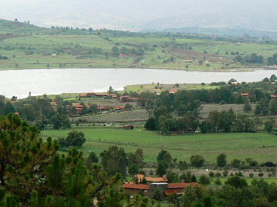 Hotel Tapalpa Country Club: vista desde nuestra habitación