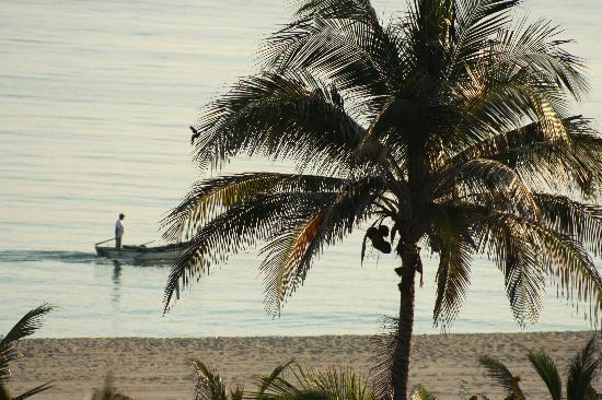 BelleVue Playa Caleta: morning fisherman