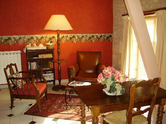 """Chambres d'Hôtes de Charme Les Bournais : la chambre """"Les Vignes"""""""