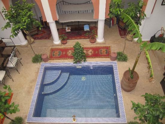 Riad Dar Shana : Thw pool