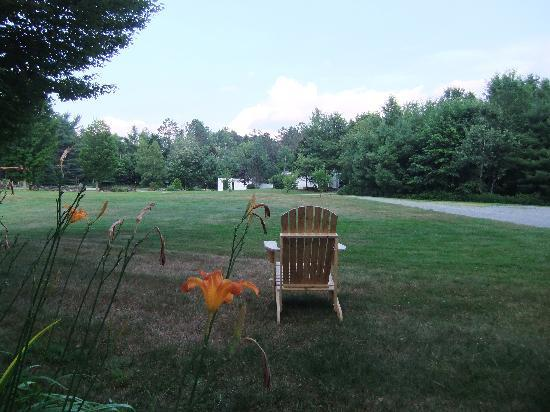 Lovett's Inn: Relaxing view of the lawn