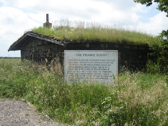 Sod House on the Prairie