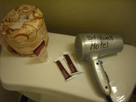 Stillwell Hotel: ドライヤー7日間借りっ放しOKでした