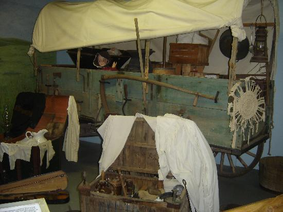 Laura Ingalls Wilder Museum: inside the museum