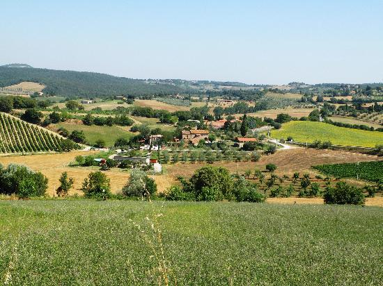 Agriturismo Case Sant'Anna: the Tuscan countryside