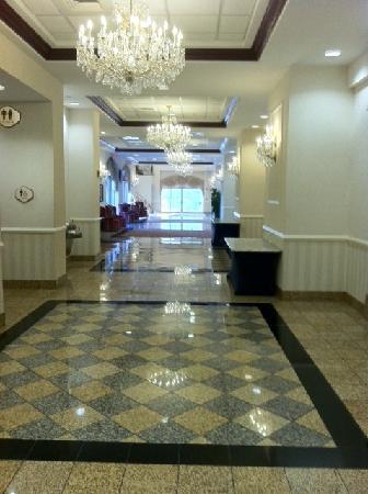 Hallway toward Conference Rooms