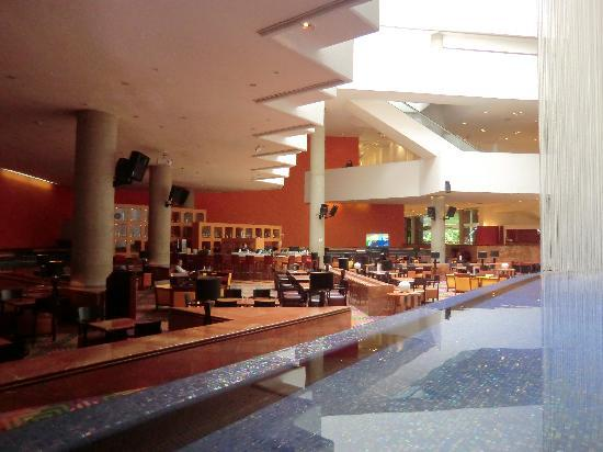 Hyatt Regency Mexico City : Hotelhalle mit Lobby Bar