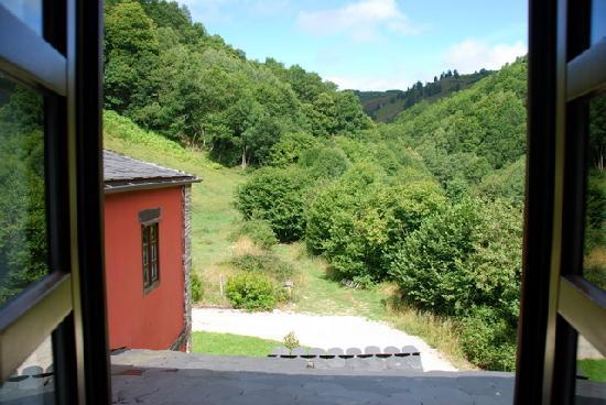 Hotel Casona Cantiga del Agüeira: Vista desde la habitación 7