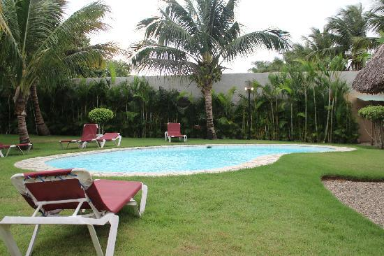 Hooked Cabarete: The pool area