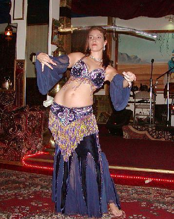 Marrakech Moroccan Restaurant : Belly Dancer performing show