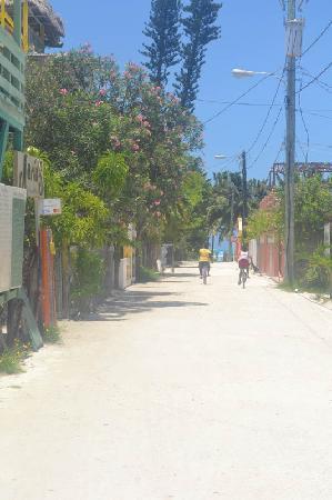 Seaside Villas Condos: Street Scene