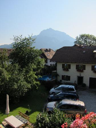 Muendlbauer Anif: view from the bedroom