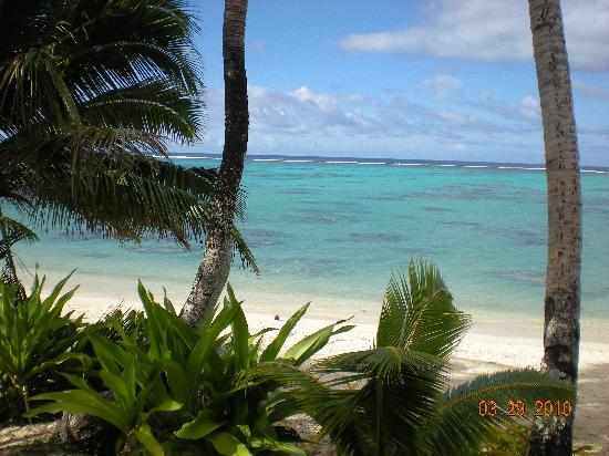 Rarotonga Beach Bungalows: Amazing View From our Deck