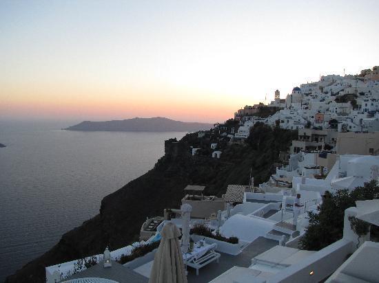 Avianto Suites: Panorama dal terrazzo