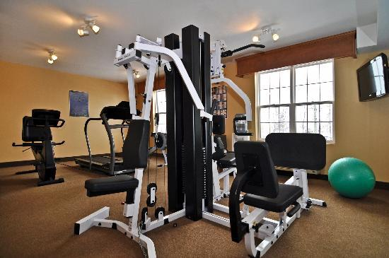 Best Western Plus Woodstock Hotel & Conference Centre: Fitness Centre