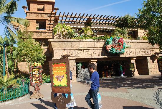 Rainforest Cafe Downtown Disney Parking