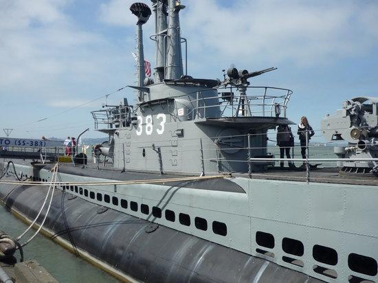 USS Pampanito: The Sub close up