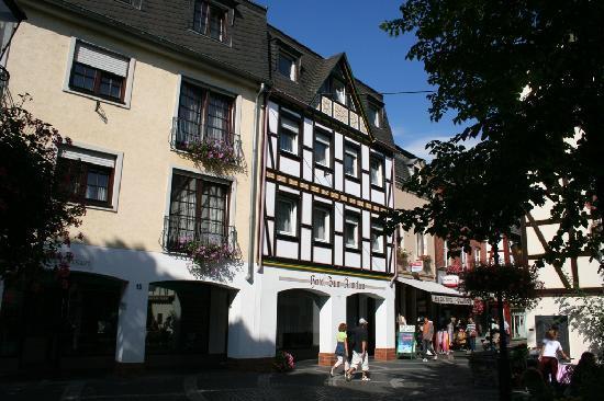 Hotel Ännchen: Voorfacade van Hotel Zum Annchen.