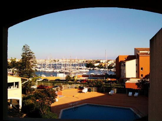 Residence Agathea : view from the room