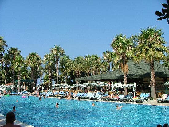 Meryan Hotel: Piscine et terrasse