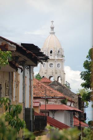 Casa del Horno: view from the balcony