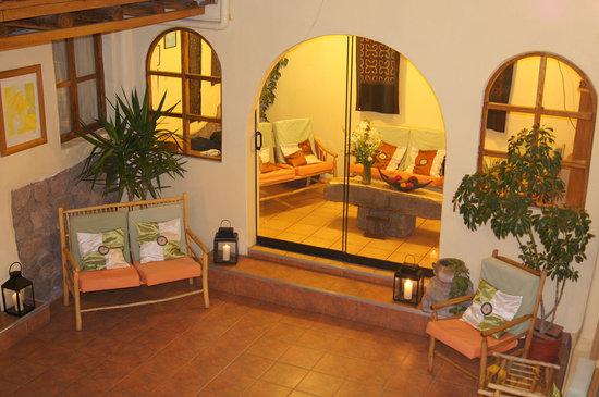 Hotel Casona les Pleiades: Patio