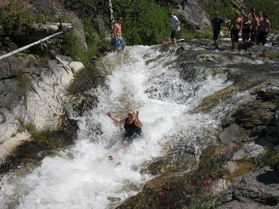 The Paulina Plunge: Taking the natural water slide