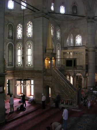 Eyup Sultan Mosque (Eyup Sultan Camii): fieles