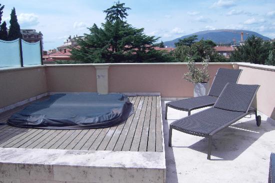 Villa dei Platani Boutique Hotel & Spa: terrazzo