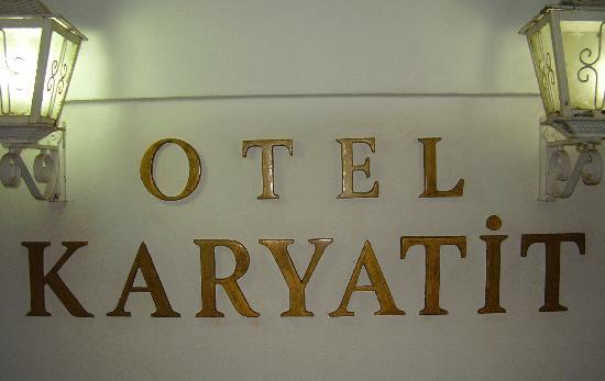 Karyatit Hotel: otel karyatit