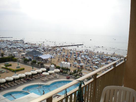 Hotel Universo: Vista mare