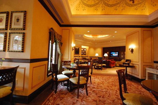 Tokyo DisneySea Hotel MiraCosta: ラウンジ