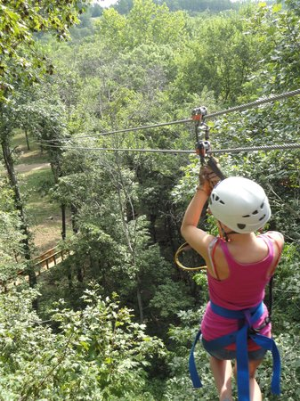 Eagle Falls Ranch Zipline Adventures