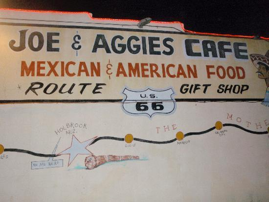 Wigwam Motel : Great Mexican Food