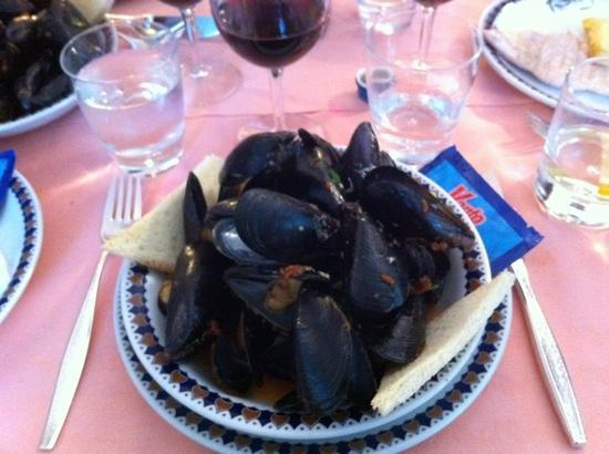 Hotel Excelsior: Fantastiska musslor!