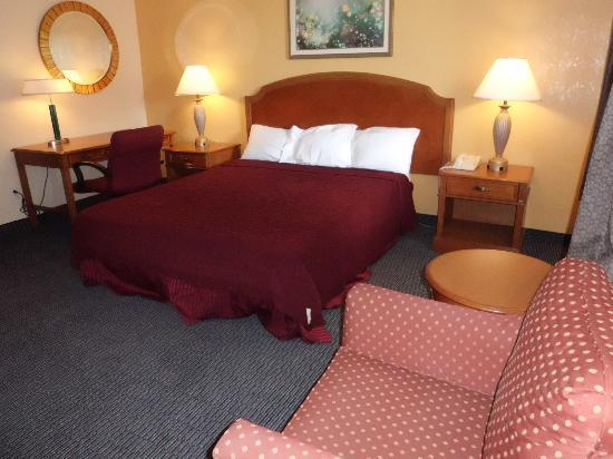 Americas Best Value Inn: king size