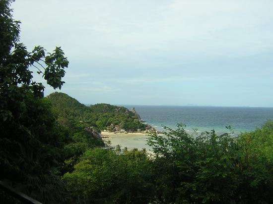 Chintakiri Resort: Vistas desde la terraza.