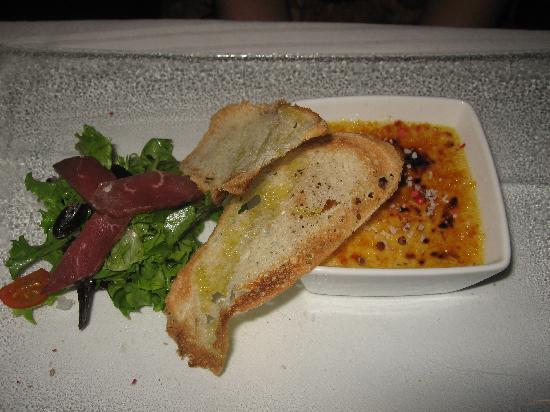 Le Paris: crème brûlée foie gras
